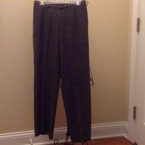Sag Harbor gray plaid pants